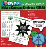 Kwanzaa Kinara Activity Learn About Unity Inclusion Word C