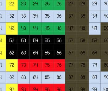 Kwanzaa 120's Chart Mystery Picture