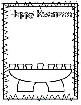 kwanzaa coloring pages for kindergarten - photo#21