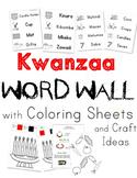 Kwanzaa / Kwanza Words for Tot School   Pre-School   Pre-K