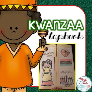 Kwanzaa Lapbook { with 11 foldables! } for Grades 2 - 5