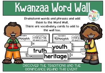 Kwanzaa - Literacy and Craft