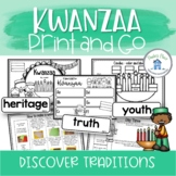 Kwanzaa Activities Worksheets and Craftivity