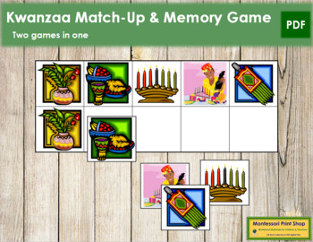 Kwanzaa Match-Up and Memory