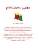 Kwanzaa Math Kindergarten Unit
