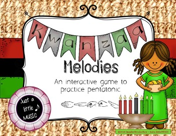Kwanzaa Melodies - Interactive Reading Practice Game {pentatonic}