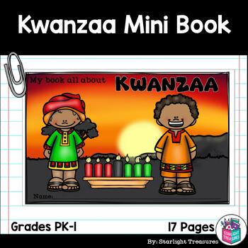 Kwanzaa Mini Book for Early Readers - Christmas Activities