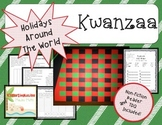 Kwanzaa Mini Unit with Printable Book and Craftivity-Common Core Aligned