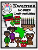 Kwanzaa NO PREP Craft Pack: Morning Work, Centers, Fast Fi