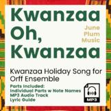 Kwanzaa Oh Kwanzaa Arrangement for Orff or Marimba Ensemble