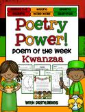 Poem of the Week: Kwanzaa Poetry Power!
