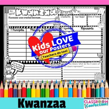 Kwanzaa Activity Poster