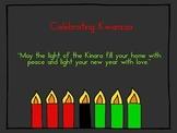 Kwanzaa Powerpoint - kindergarten, 1st, 2nd, or 3rd grade