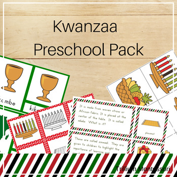 Kwanzaa Preschool Pack