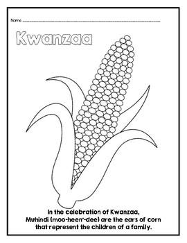 Kwanzaa Q-Tip Painting Craft
