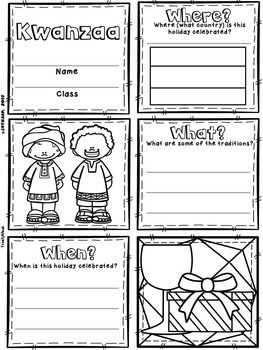 Kwanzaa Quilts (Winter Holiday)
