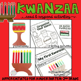 Kwanzaa: Reading Comprehension, Writing and Craftivities