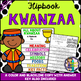 Kwanzaa Research Flipbook (All About Kwanzaa Celebration and Activities)