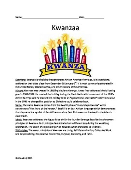 Kwanzaa - Review Article all the facts history with questi
