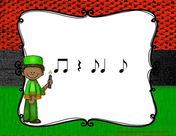 Kwanzaa Rhythms - Interactive Reading Practice Game {syncopa}
