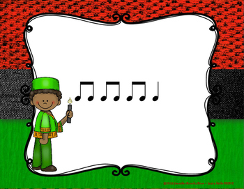 Kwanzaa Rhythms - Interactive Reading Practice Game {ta titi}