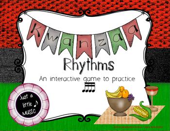 Kwanzaa Rhythms - Interactive Reading Practice Game {tika tika}
