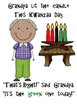 Kwanzaa Shared Reading Pack! 'Who Lit The Candle This Kwanzaa Day?' CC Aligned!