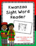 Kwanzaa Sight Word Book