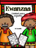 Kwanzaa Stand Up Report in Spanish