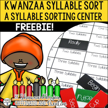 Kwanzaa Syllable Sort
