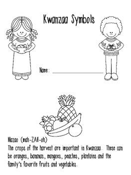 Kwanzaa Symbols Book