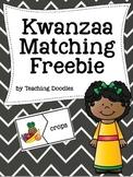 Kwanzaa Symbols Matching Freebie