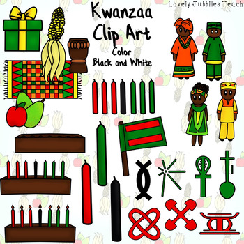 Kwanzaa Themed Clip Art