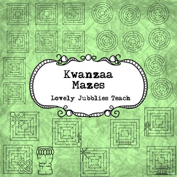 Kwanzaa Themed Mazes