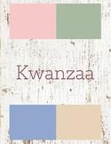 Kwanzaa Toddler Theme