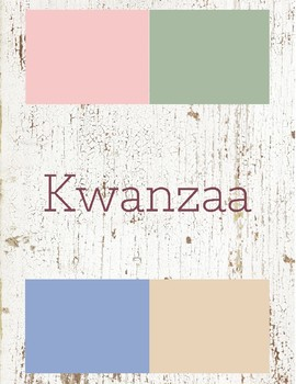 Kwanzaa Toddler Theme