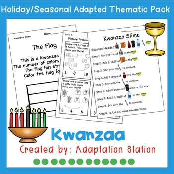 Kwanzaa Weekly Pack