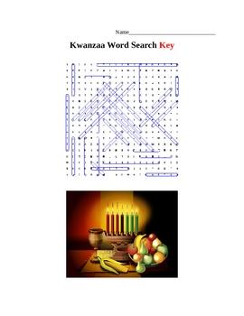 Kwanzaa Word Search