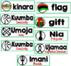 Kwanzaa Word Wall Cards Set