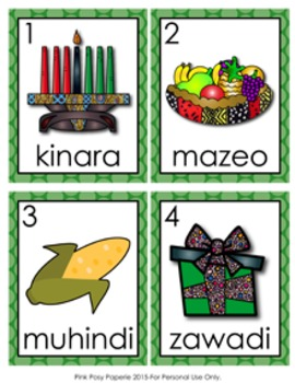 Kwanzaa Write the Room