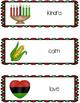Kwanzaa Writing Center Cards