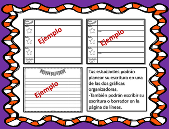 Kwanzaa Writing Mobile in Spanish & English