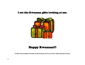 Kwanzaa: Yellow Corn Yellow Corn What Do You See