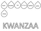 Kwanzaa candle craft