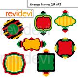 Kwanzaa clip art frames