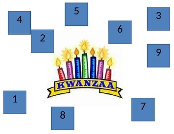 Kwanzaa roll and cover