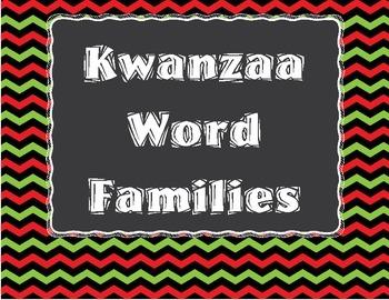 Kwanzaa Word Families