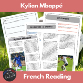 Kylien Mbappé - reading for int/adv French learners