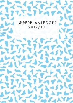 Lærerplanlegger 2017-18 - Blue