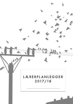 Lærerplanlegger 2017-18 - birds